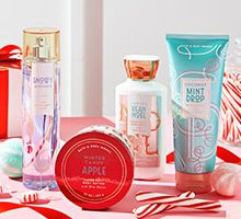 Anything and everything from Bath and Body Works. Particularly in need of a body scrub. And hand soap.