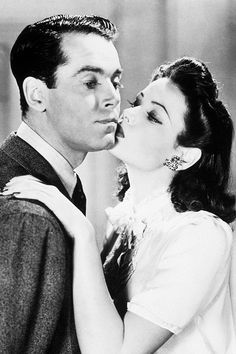 Henry Fonda and Gene Tierney in Rings on her Fingers (1942)