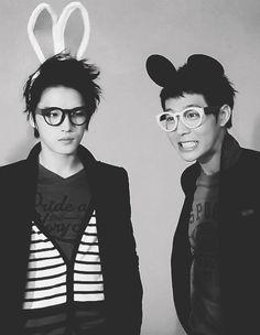 Kim Jaejoong and Park Yoochun