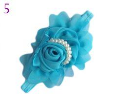 Blue Headband for Baby Girls,Infant Girls,Toddler Girls-Photography Wedding