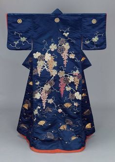 Mid 19th C. uchikake - Museum of Fine Art, Boston