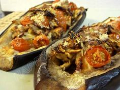 Light Baked Eggplants Stuffed with Tomatoes and Parmigiano Cheese - Recipe -Looking for a healthy yet flavorful meal? Light Baked Eggplants Stuffed with Tomatoes and Parmigiano Cheese are surely a great choice. Easy to prepare, they are  perfect for those looking to eat well without giving up on flavor!