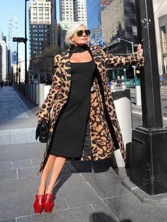 The 17 Best Leopard-Print Coats, Hands Down | Who What Wear UK Leopard Print Jacket, Leopard Coat, Leopard Dress, Winter Coat Outfits, Night Outfits, Comfortable Outfits, Simple Outfits, Coats For Women, Autumn Fashion