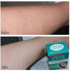 Beauty 411 prefers bleaching unwanted hair over other methods like waxing. #GoConfidently www.jolenbeauty.com