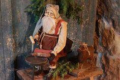 Cobbler's Bench Santa...Arnett's Santa