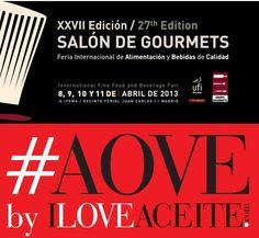 iloveaceite, de la mano de la DO 'Sierra de Cazorla', estará en Salón de Gourmets #aove @GrupoGourmets @DOSierraCazorla