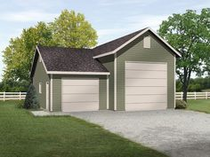 1000 images about rv garage plans on pinterest rv for 3 car attached garage plans