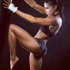 Fitness girls #kickboxing #mma