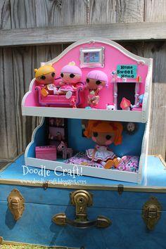 LaLaLoopsy Dollhouse Upcycled Craft!
