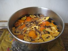 orange potpourri
