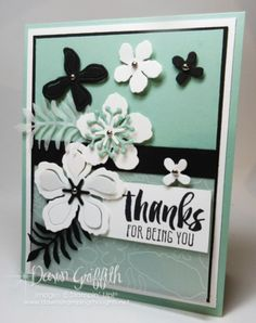 Any Occasions card with Botanical Builder Framelits video | Stampin'Up!  | Bloglovin'