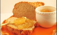 """Meyer Lemon Marmalade with Irish Soda Bread """" We are living in a world today where lemonade is made from artificial flavors and furn. High Acid Foods, Lemon Marmalade, Wine Jelly, How To Make Jam, Lemon Sauce, Soda Bread, Jam Recipes, Summer Recipes, Food And Drink"""