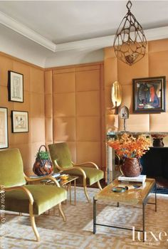 22 Ways to Decorate With Orange   LuxeSource  - The Luxury Home Redefined   cynthia reccord