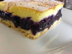 Sweet Recipes, Blueberry, Cheesecake, Goodies, Food And Drink, Cooking Recipes, Pie, Yummy Food, Sweets