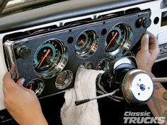 Classic Instruments Gauge Panels For 1967-1972 Chevys And GMCs  - Hot Rod Network