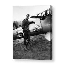 Medal Of Honor Eddie Rickenbacker Eastern Airlines Silver Halide Photo