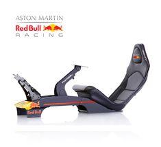 Aston Martin, Racing Simulator, Gaming Station, Racing Seats, Formula 1 Car, Comfort Design, Red Bull Racing, Grand Prix, Game Room