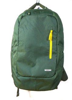 0e57946b85f14 Incase Plush Lined Nylon Backpack Green Goldenrod 17