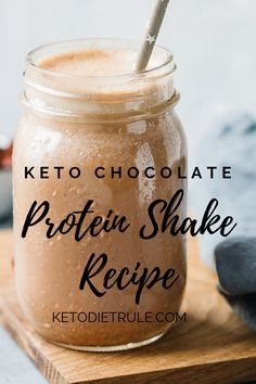 The best low-carb chocolate keto protein shake recipe that won't kick you out of ketosis. The best low-carb chocolate keto protein shake recipe that won't kick you out of ketosis. Keto Protein Powder, Low Carb Shakes, Low Carb Protein Shakes, Protein Powder Shakes, Chocolate Protein Shakes, Keto Shakes, Protein Powder Recipes, Protein Shake Recipes, Chocolate Protein Milkshake Recipe