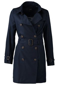 Opus HELLY Trenchcoat blue