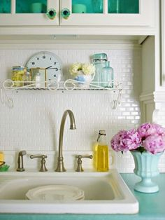 A Bright Galley Kitchen by ialbuq