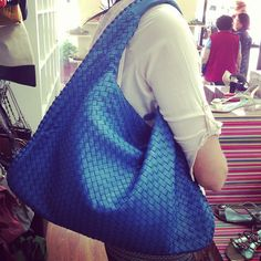 wicked blue leather weave from kelly brown
