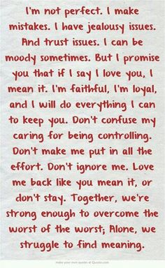 48 romantic true love messages for her and to send to him. Love Messages for your girlfriend or for your boyfriend that make them fall in love. notes 48 True Love Messages to send Now Quotes, Quotes To Live By, Quotes About Trust, Love And Trust Quotes, Confused Love Quotes, Best Quotes From Books, Best Love Quotes, Love Messages For Her, Cute Notes For Him