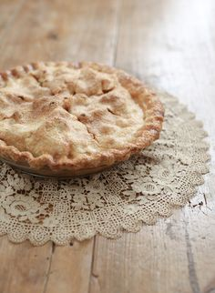 Brown Butter Apple Pie Recipe via Snippet and Ink