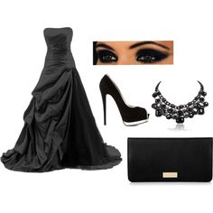 Formal 2 by shelbyarnold on Polyvore featuring Giuseppe Zanotti and Henri Bendel