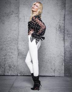 Claudia Schiffer   Black & White Fashion Cover Editorial   The Edit