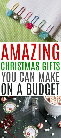 It's  not always easy to find Amazing Christmas Gifts You Can Make on a Budget. That's  why we have put together this list for you! There's something here for nearly  everyone on your list. #christmas  #diychristmas #holidays #diyholidayideas #diychristmasideas #diychristmasdecor  #diychristmasgiftideas #christmascrafts #christmaskidcrafts #diygiftideas  #christmasdiy #christmascrafts #diychristmasideas Christmas Gift You Can Make, Christmas Crafts For Kids, Crafts For Teens, Diy Christmas Gifts, Xmas, Handmade Gifts For Boyfriend, Diy Gifts For Men, Craft Projects, Goodies