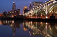 Cleveland. - Despite its crime and poverty, this is my favorite place to go in Ohio.