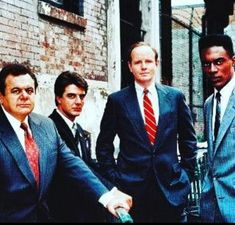 Paul, Chris, Michael and Richard Jerry Orbach, Paul Sorvino, Benson And Stabler, Chris Noth, Logan Paul, Tv Times, Law And Order, Moriarty, Classic Tv