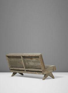 pierre jeanneret sofa new Pierre Jeanneret, Sofa Bench, Refurbished Furniture, Chandigarh, Mid Century Furniture, Art Decor, Home Decor, Interior Styling, Teak