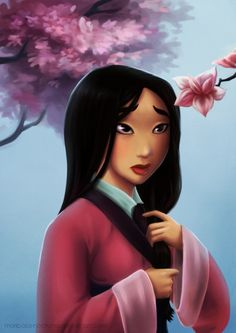 Movie Friday: 15 Artist Recreations of Disney's Mulan