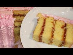 #108- Pastel de naranja relleno con pasta de guayaba - YouTube Cupcakes Rellenos, Plantain Recipes, Almond Cakes, Desert Recipes, Cake Recipes, Bakery, Cheesecake, Deserts, Tube