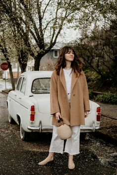 Spring Neutrals in Rainy Portland #fashion #outfits #fashion #ootd