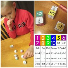 Relentlessly Fun, Deceptively Educational: Dice Roll Match-Up (Division and Letters)