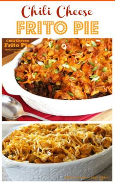 Chili Cheese Frito Pie - This family pleasing meal is good to the last spoonful!