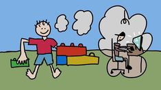 Co pro mě má společného lego a animace Lego, Peanuts Comics, Art, Craft Art, Kunst, Legos
