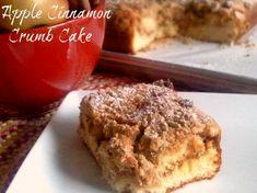 Apple Cinnamon Crumb Cake from ItsYummi.com