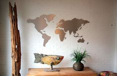 Win een unieke wereldkaart voor aan de muur - Nieuws - Droomplekken