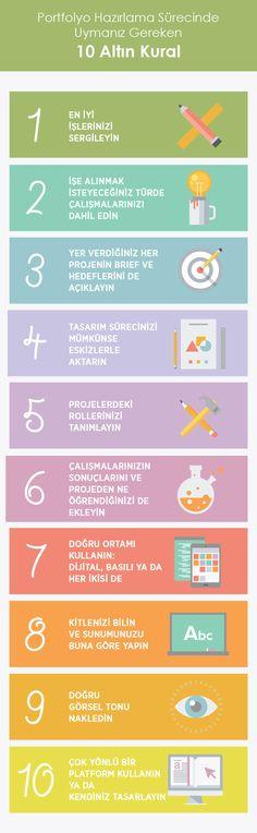Portfolyo Hazırlama Sürecinde Uymanız Gereken 10 Altın Kural | Grafik Tasarım Notları | Tasarım Yarışmaları | Freebies