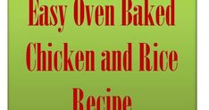 Easy Oven Baked Chicken and Rice Recipe Chicken Tray Bake Recipes, Easy Oven Baked Chicken, Easy Rice Recipes, Chicken Flavors, Garlic Butter Mushrooms, Skinless Chicken Thighs, Dinners, Meals, Tray Bakes