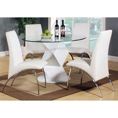 Found it at Wayfair.co.uk - Harrison Dining Table and 4 Chairs