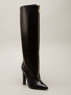 Emanuel Ungaro Knee High Boots - Layers - Farfetch.com