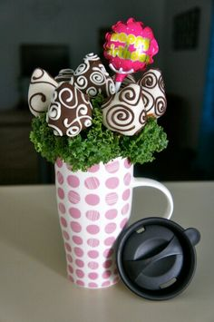 Chocolate covered Strawberry bouquet.....so sweet by MEE :)