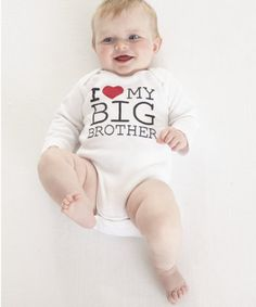 Mothercare I Love My Big Brother Bodysuit