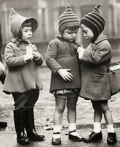 Evacuee children, London, ca.1940