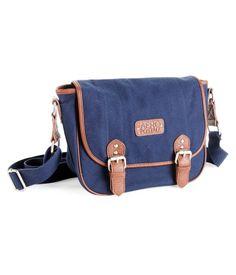 Aero Solid Saddle Bag, $18.25; aeropostale.com